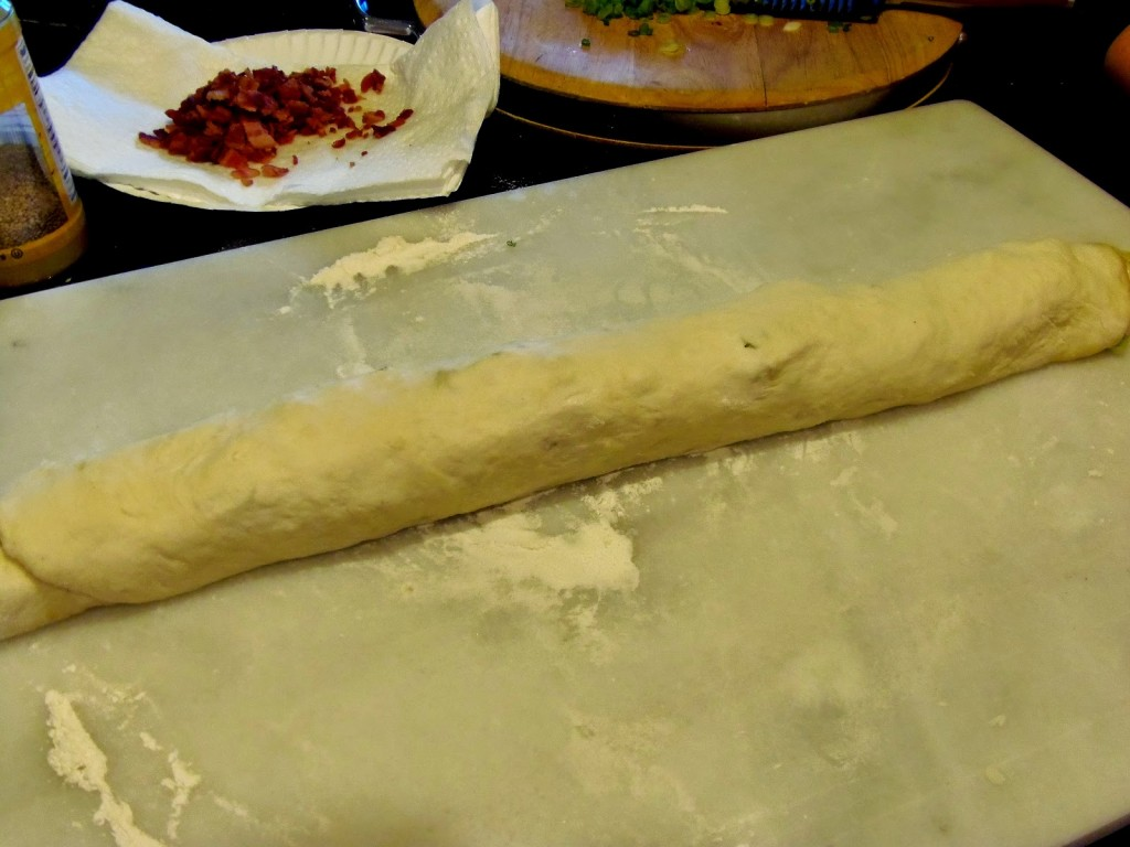 Making Chinese Bing Bread