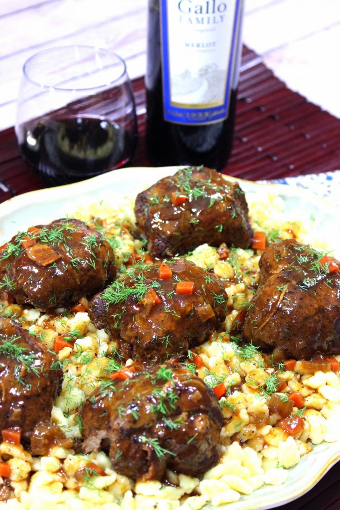 German Beef Rouladen Recipe - Kudos Kitchen by Renee