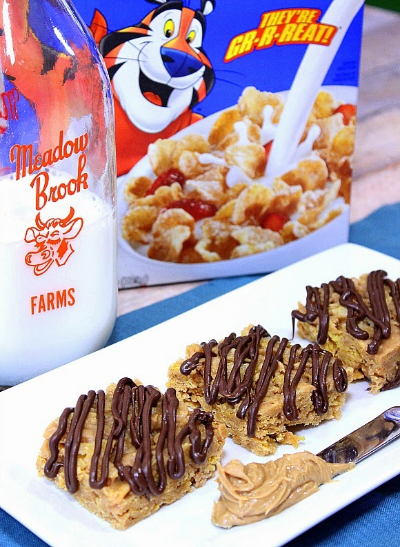 Chocolate Drizzled Peanut Butter Tiger Paws Recipe - Kudos Kitchen by Renee