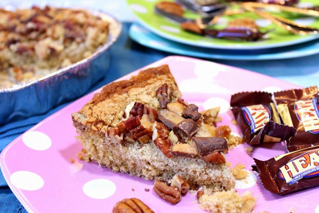 Mom's Retro Heath Bar Cake Recipe - Kudos Kitchen by Renee
