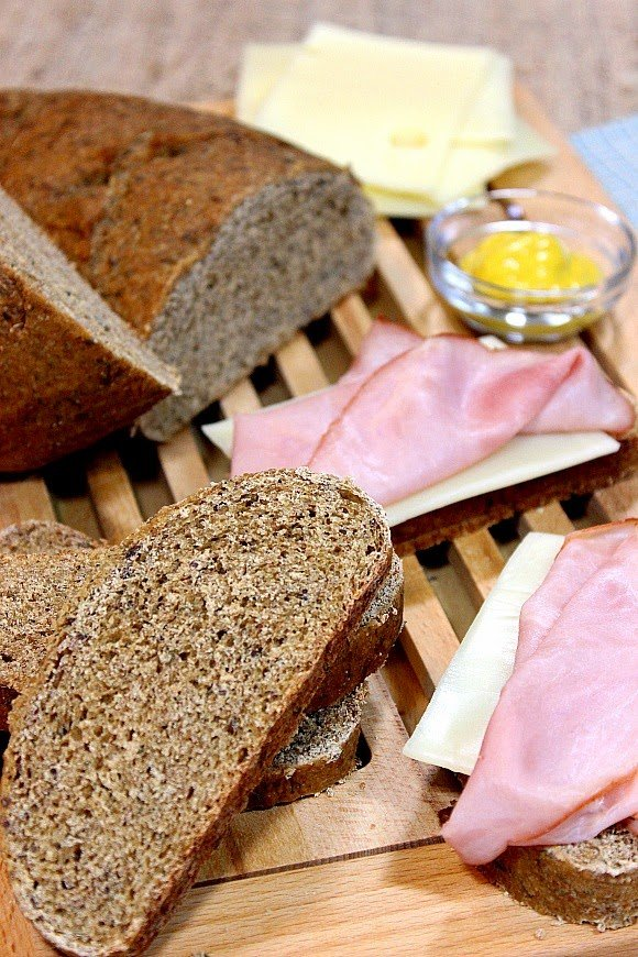 Homemade Rye Bread with Dill Recipe - Kudos Kitchen by Renee