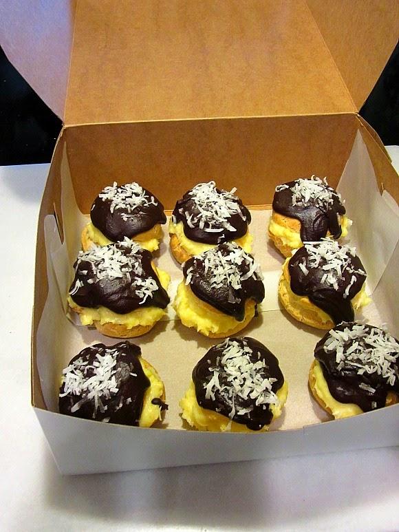 Coconut Cream Puffs   Kudos Kitchen by Renee