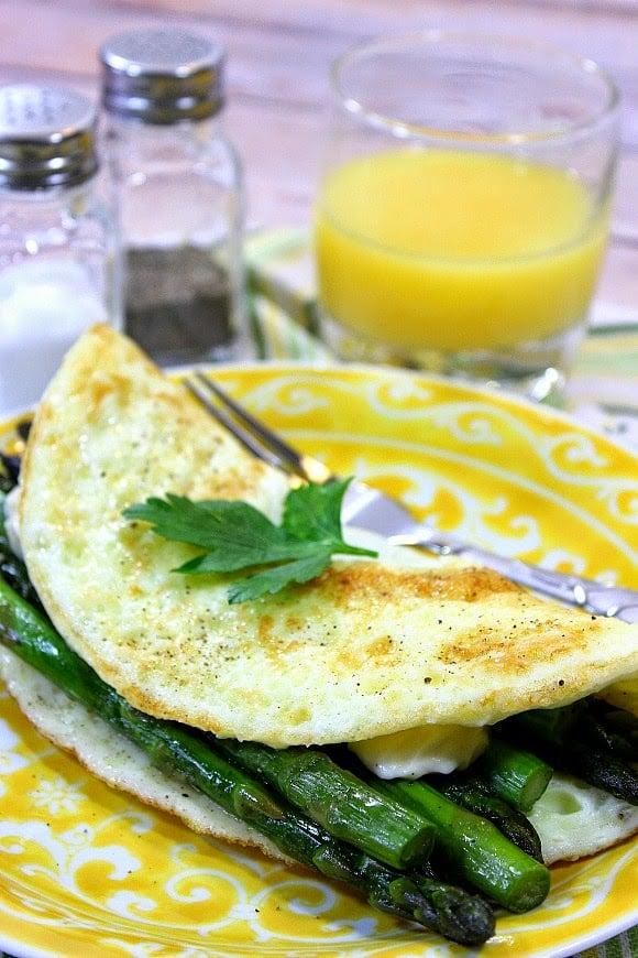 Low Calorie Egg White Omelet