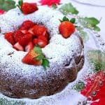 Old-Fashioned Strawberry Rhubarb Bundt Cake - kudoskitchenbyrenee.com