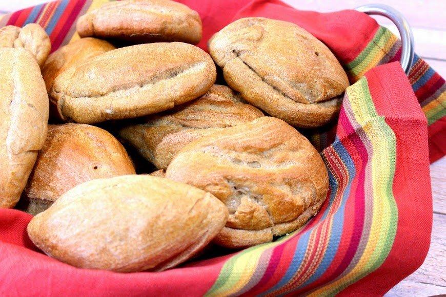 Whole Wheat Mexican Bolillos