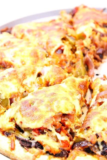 Chicken Fajita Pizza