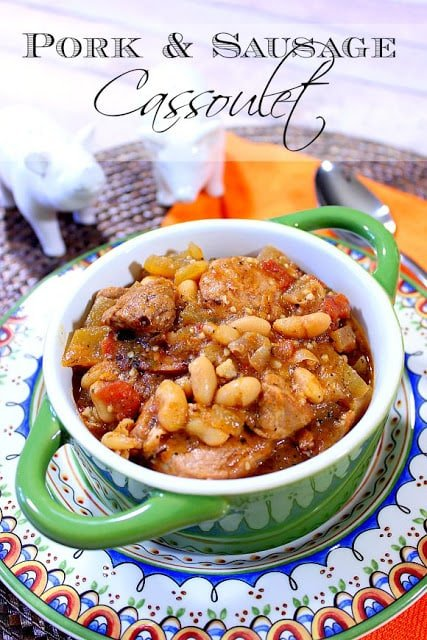 Pork and Sausage Cassoulet