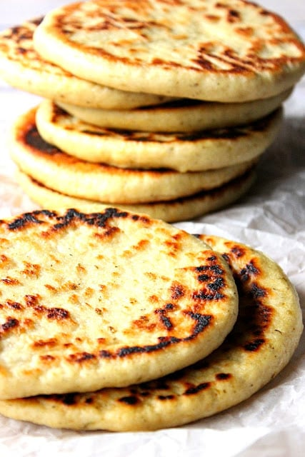 Lemon Oregano Pita Bread Recipe