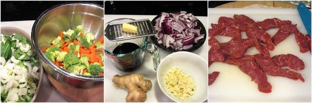 Making an Asian Stir Fry