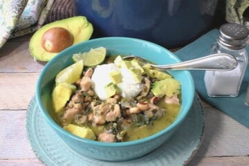 Black-Eyed Pea Chicken Chili
