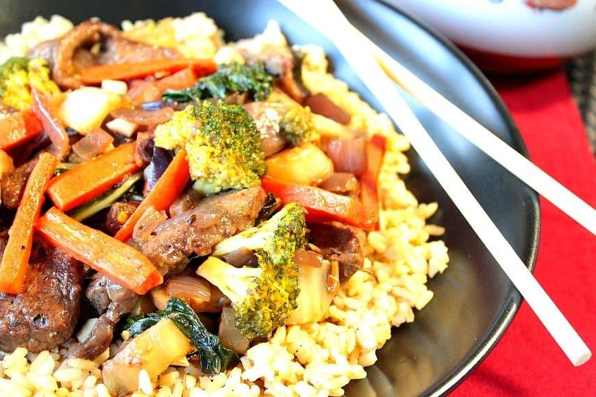 Stir Fry Beef and Broccoli