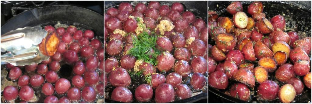 Easy Braised Crispy Red Potatoes