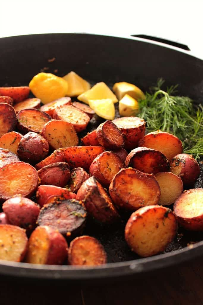 Crispy Red Potato Side Dish