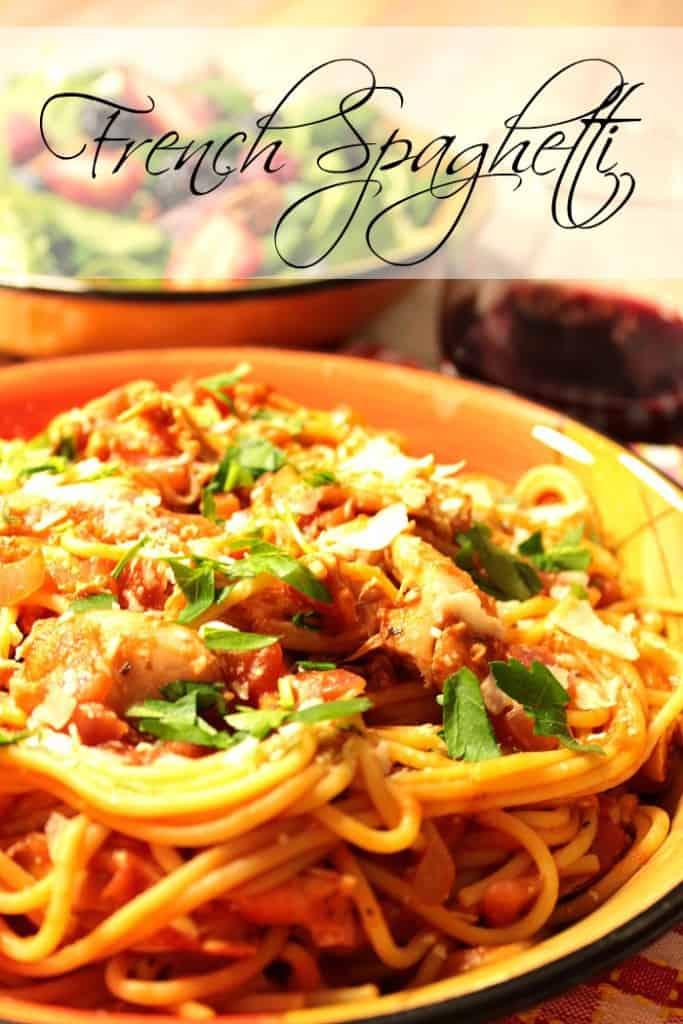 French Spaghetti Recipe