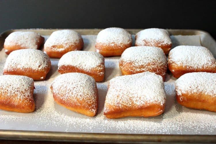 Powdered Sugar Beignets for Mardi Gras Recipe | Kudos Kitchen