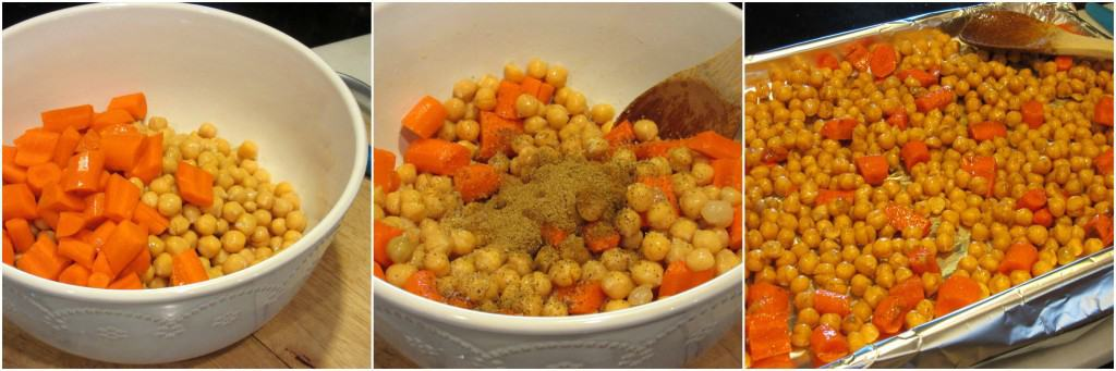 Easy Chickpea and Carrot Hummus