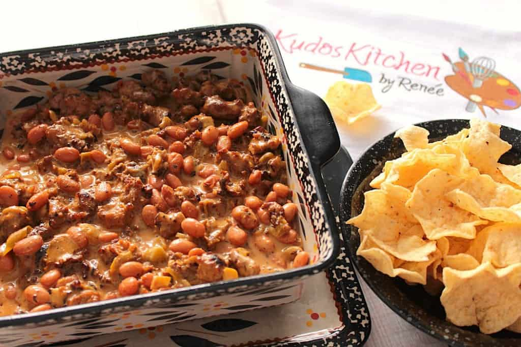 Bean and Sausage Dip