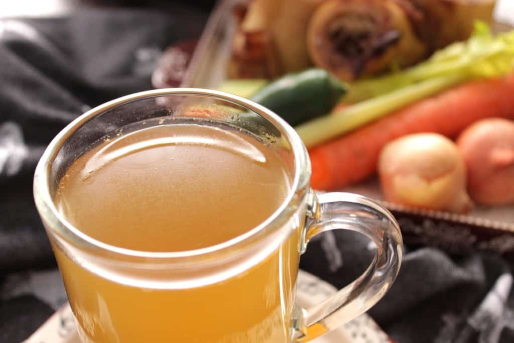 Healthy and delicious bone broth recipe