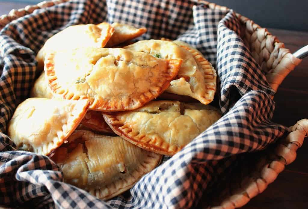 Homemade Chicken Pot Pie Pockets