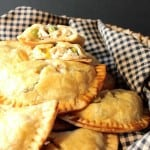 Hand Held Chicken Pot Pie