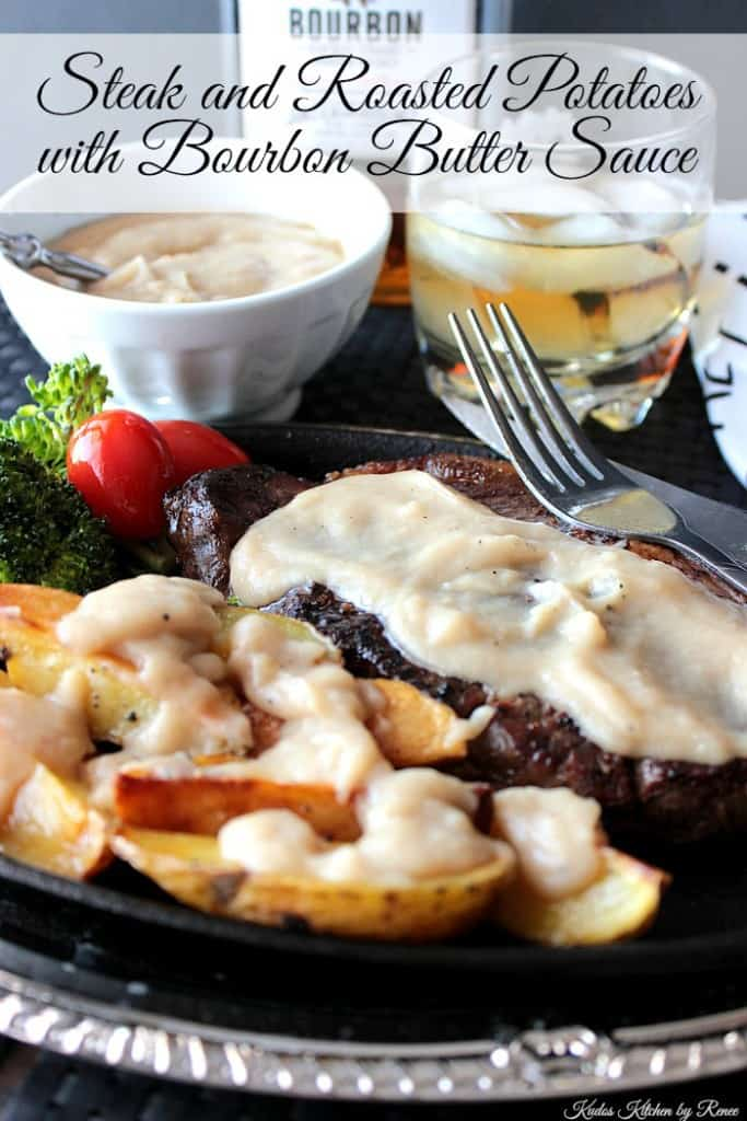Bourbon Butter Sauce for Steak and Potatoes