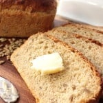 Honey Oatmeal Yeast Bread