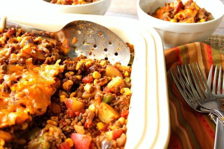 Family Favorite Texas Tater Hash Casserole