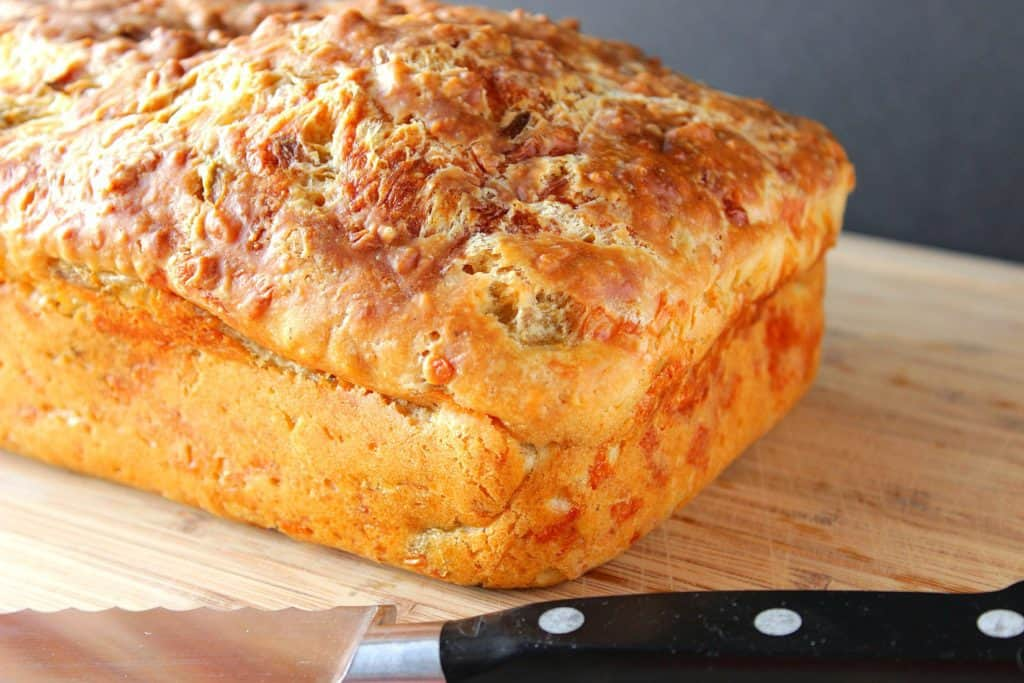Quick Bread with Monterey Jack Cheese and Jalapenos