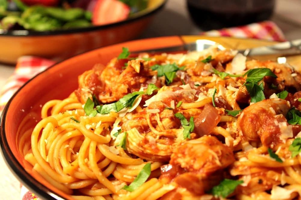 Spaghetti with Chicken