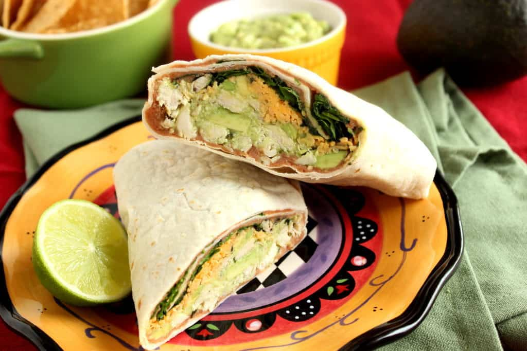 Chicken Wrap with Avocado
