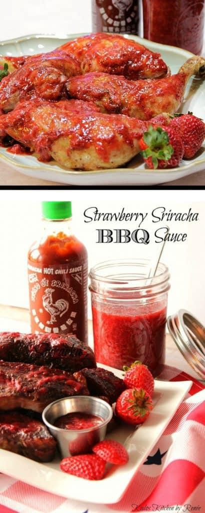 Homemade Strawberry Sriracha BBQ Sauce Recipe