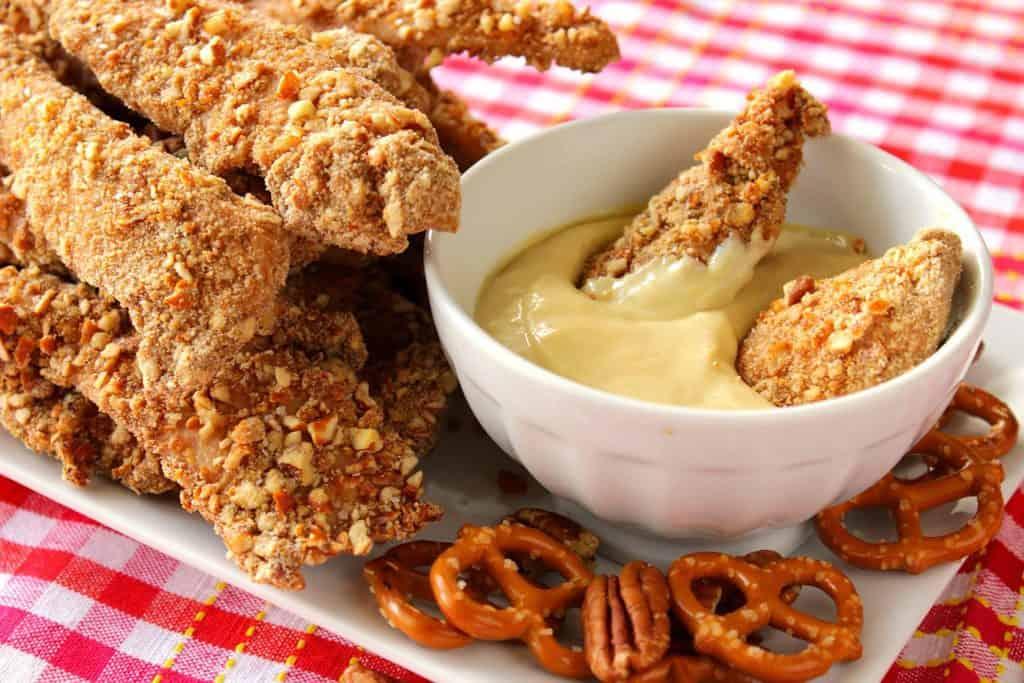 Pretzel Pecan Coated Chicken Tenders