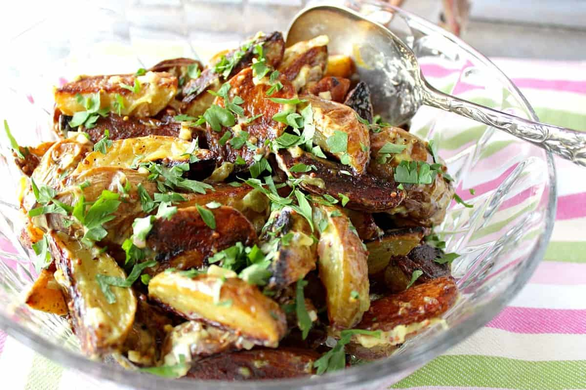 Easy Roasted Potato Salad Recipe