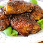 Glazed Gingerbread Chicken