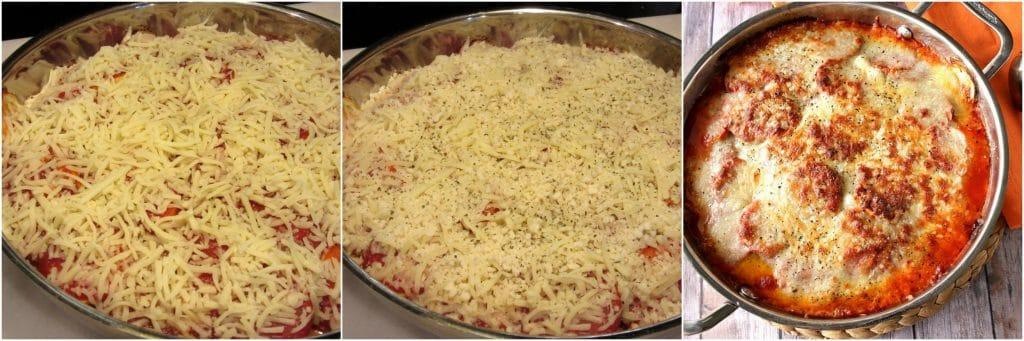 How to make zucchini Parmesan casserole - www.kudoskitchenbyrenee.com