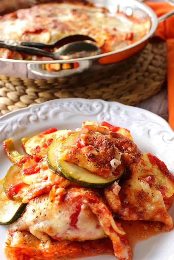 Zucchini Parmesan Casserole - www.kudoskitchenbyrenee.com