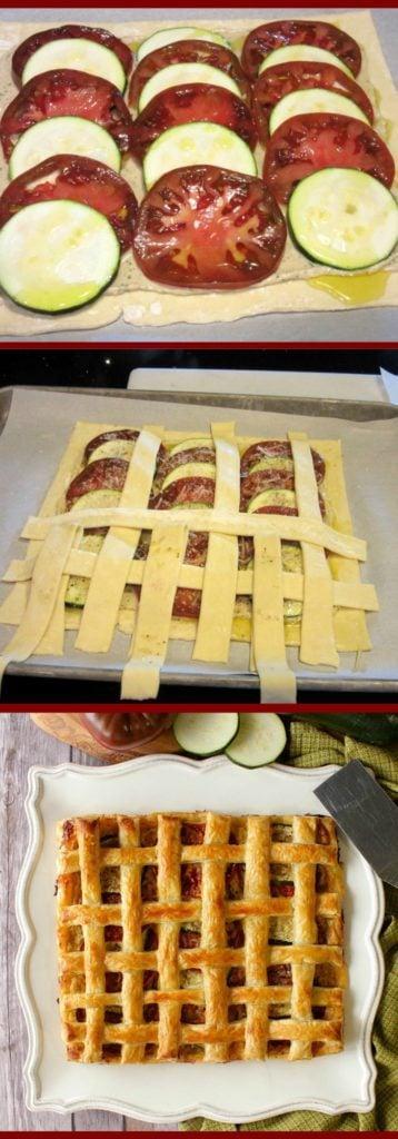 Lattice Top Tomato Tart