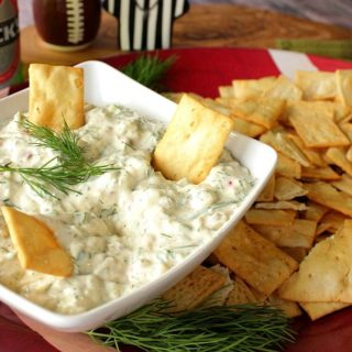 Dill Pickle Dip with Greek Yogurt