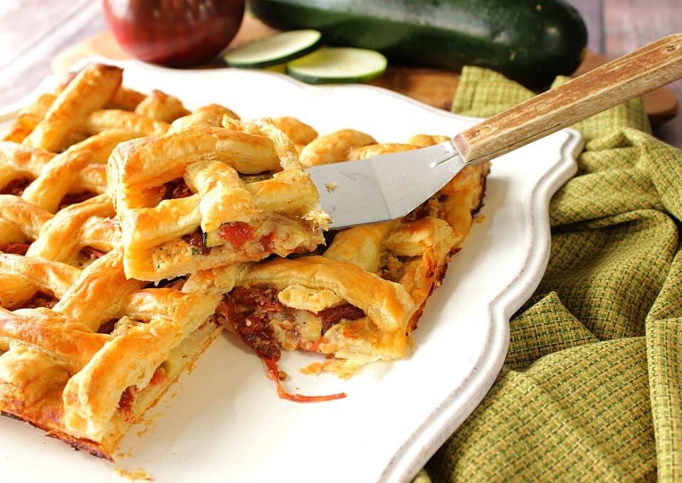 Tomato Zucchini Tart