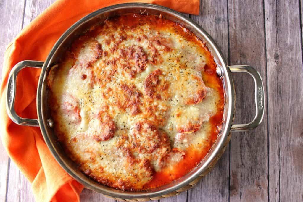 Italian Layered Zucchini Parmesan - www.kudoskitchenbyrenee.com