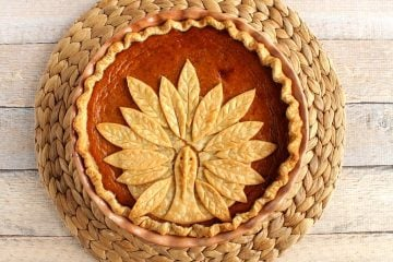 Pumpkin Pie with Turkey Crust