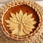 Turkey Crust Pumpkin Pie