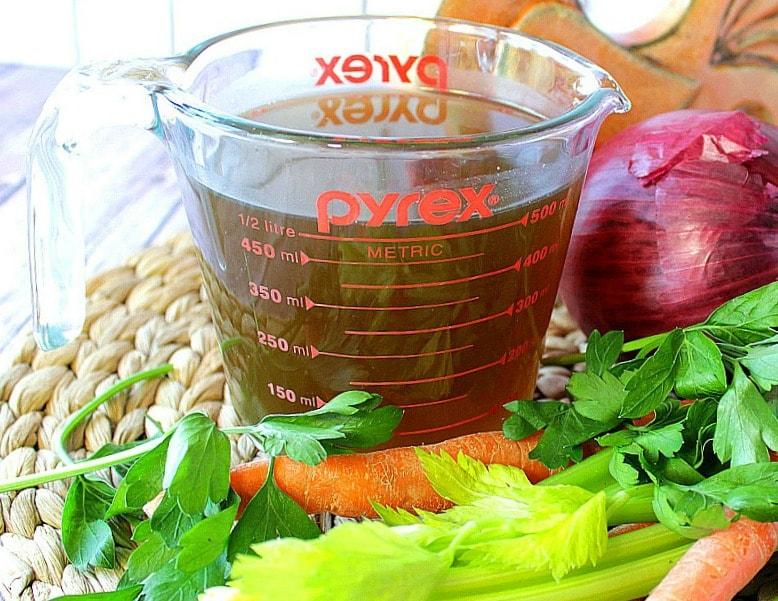 Organic Homemade Chicken Stock Recipe