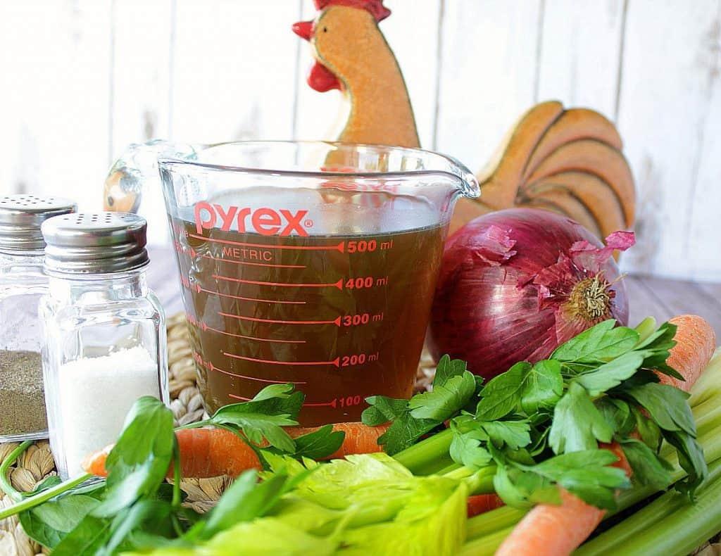 Organic Homemade Chicken Stock