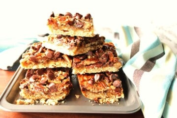Heavenly Chocolate Pecan Pie Bars from Joan