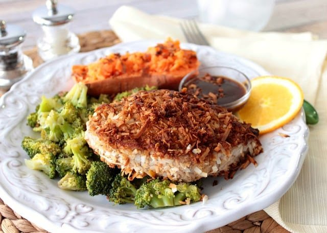 Coconut Crusted Tuna Steak Recipe - kudoskitchenbyrenee.com