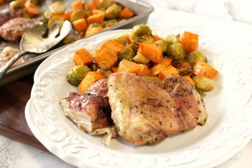 Maple Mustard Chicken Thigh Recipe