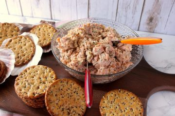 Baked Salmon Salad Spread