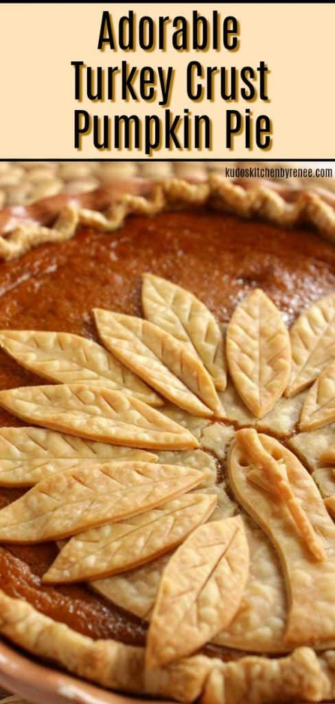 Turkey Crust Pumpkin Pie Title Image