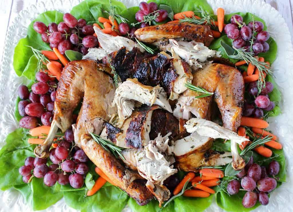 Balsamic Basted Roast Turkey